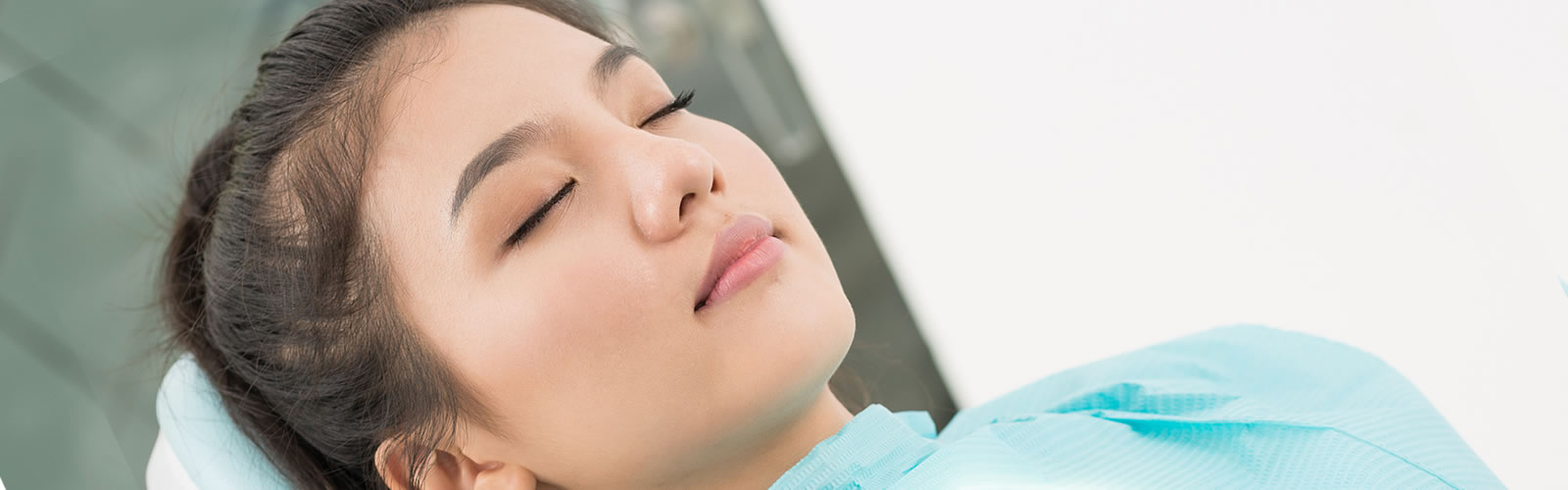 woman having sleep dentistry
